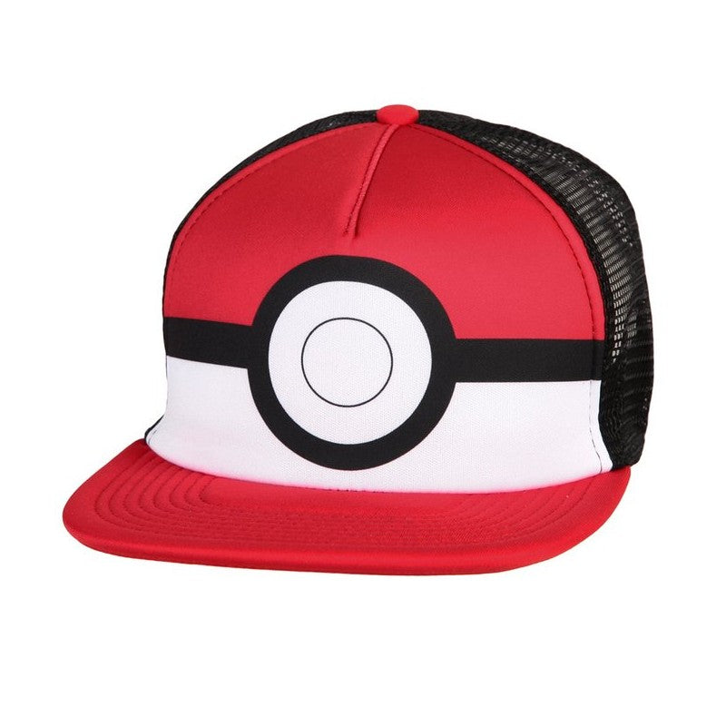 Official Nintendo's Pokemon Pokeball trucker snapback cap