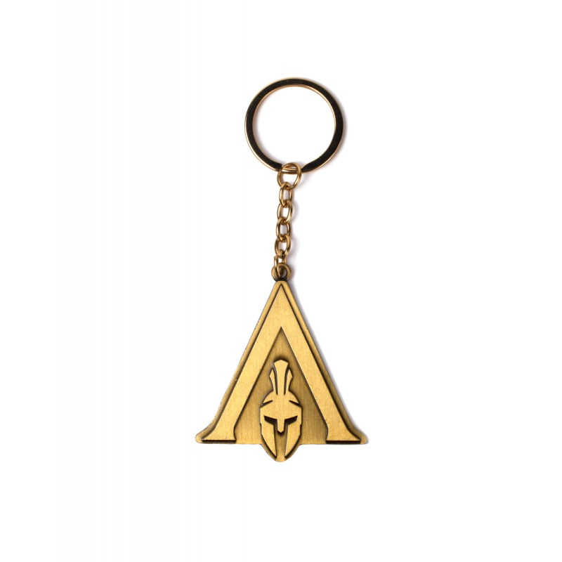 Assassin's creed odyssey - bronze symbol metal keyring