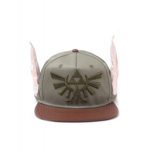 Nintendo - the legend of Zelda - Link Hylian ears snapback cap