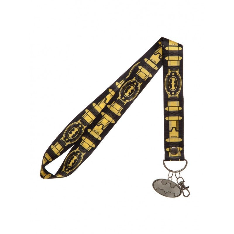 Official DC Comics Batman utility belt print lanyard