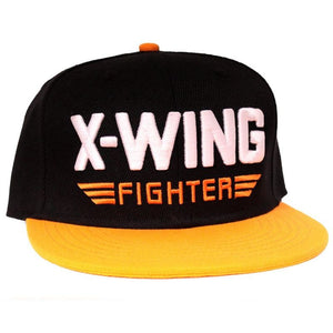 Star wars the force awakens X-Wing fighter snapback cap