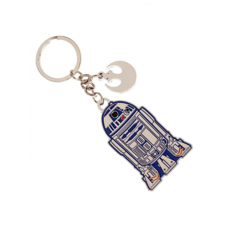 Official Star wars - R2-D2 and Rebel symbol charm keyring