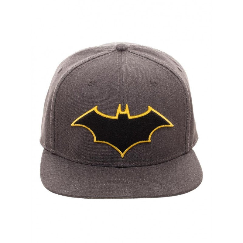 DC Comics - Batman rebirth symbol grey flex fit fitted cap