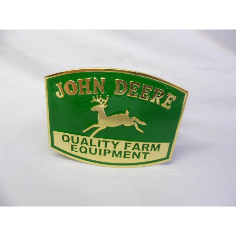 John Deere 'quality farm equipment' buckle with belt