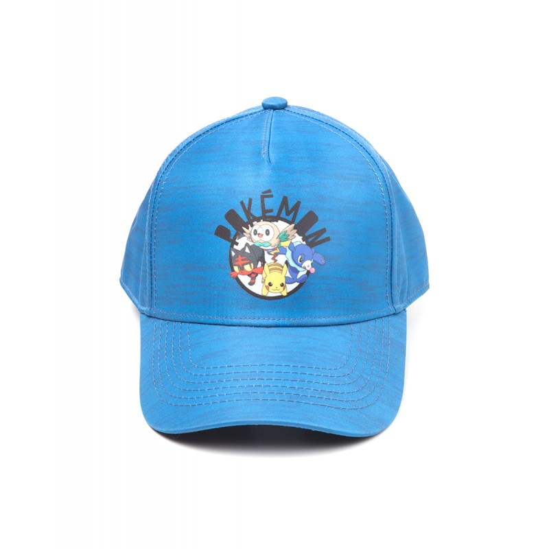 Official Nintendo - Pokemon Sun and Moon printed curved baseball cap