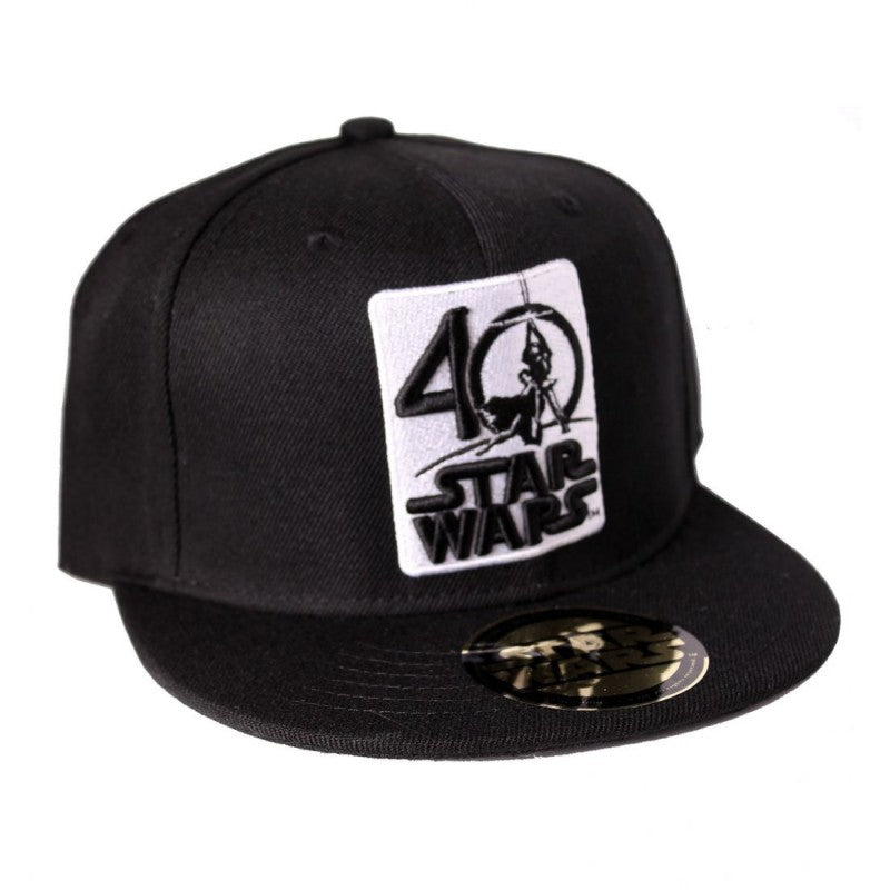 Official Star wars - 40th anniversary black snapback cap