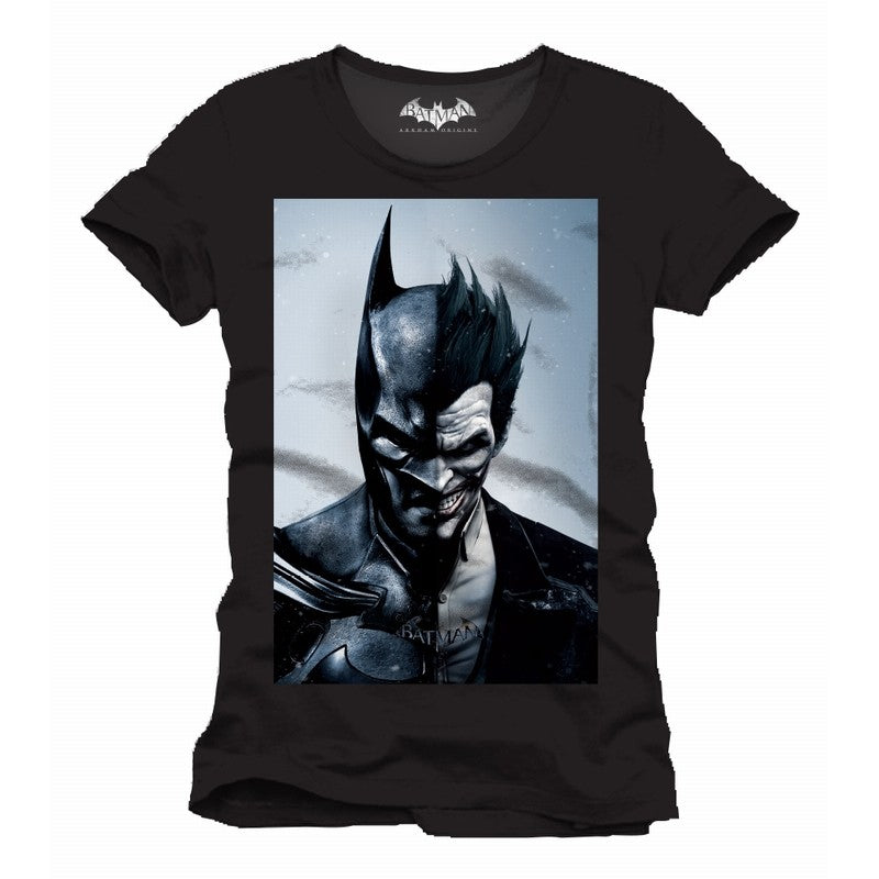 DC Comics Batman vs the Joker: Arkham origins black t-shirt
