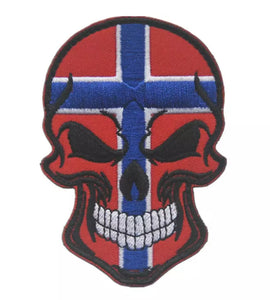Norway skull flag