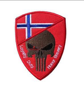 Norway skull shield