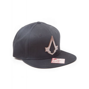 Official Assassin's creed - syndicate metal symbol black snapback cap