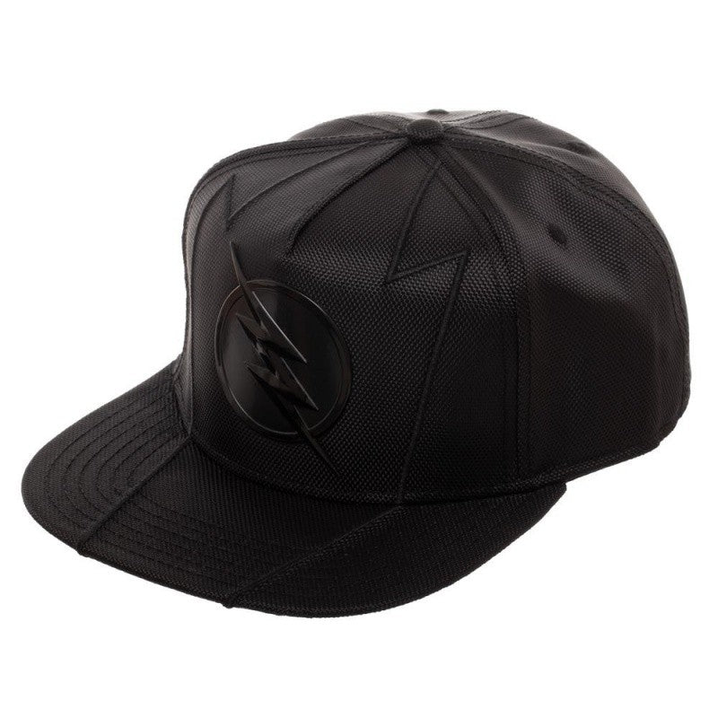 Official DC Comics the Flash - Zoom metal symbol black snapback cap