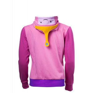 Official Adventure time princess Bubblegum costume pink zip hoodie jumper
