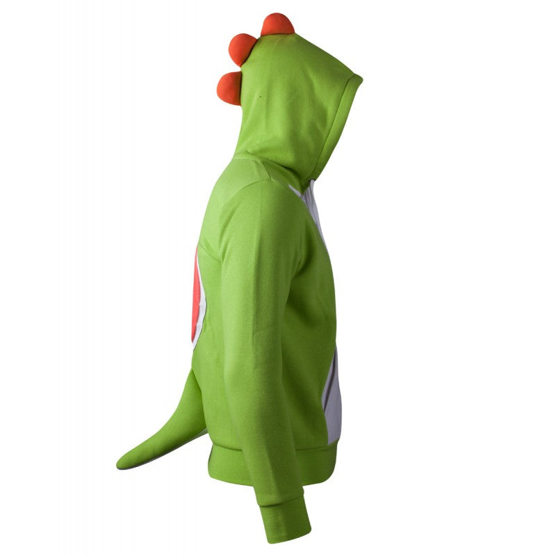 Official Nintendo - super Mario bros Yoshi costume / cosplay zip hoodie jumper