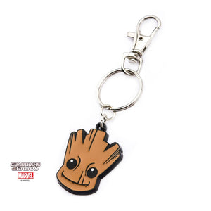 Guardians of the galaxy vol. 2 - baby Groot head metal keyring