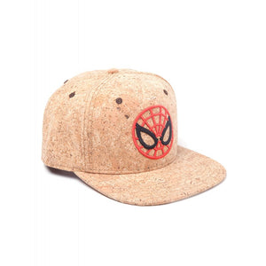 Official Marvel comics the amazing Spider-man round mask cork snapback cap