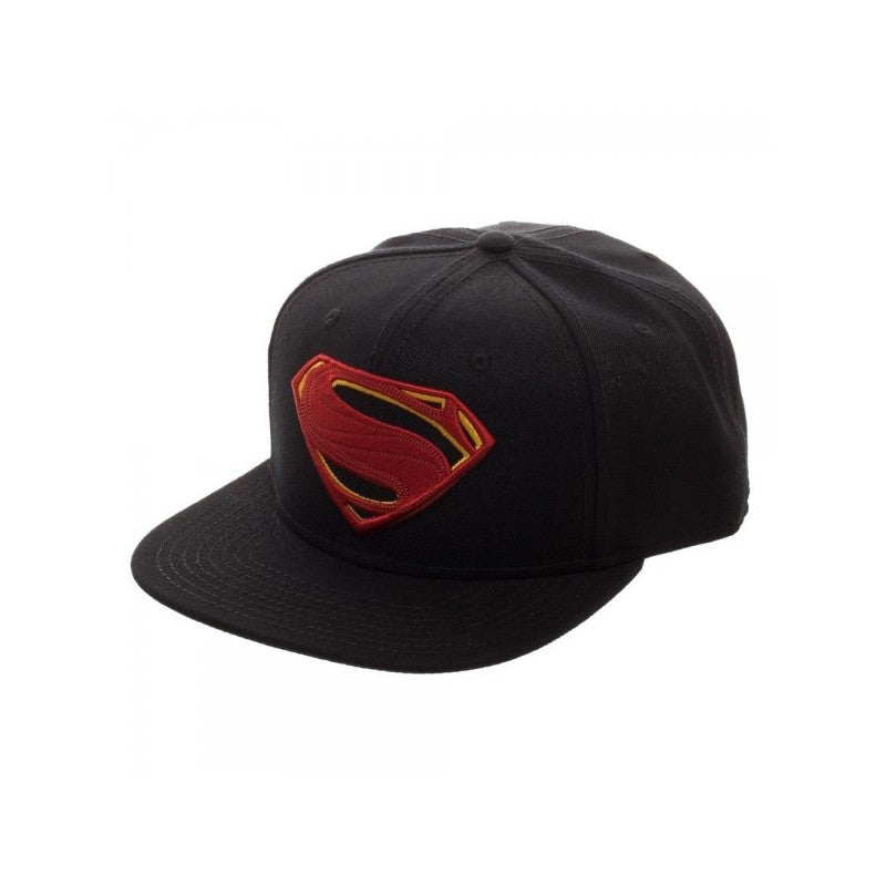 DC Comics - Justice league Superman symbol black snapback cap