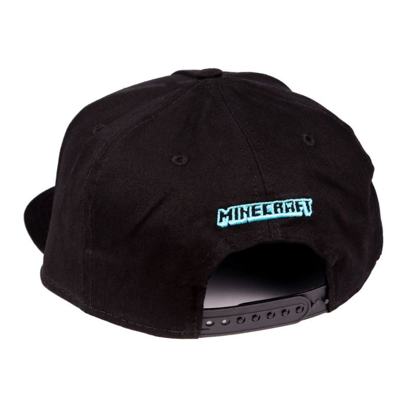 Official Minecraft - sword black snapback cap
