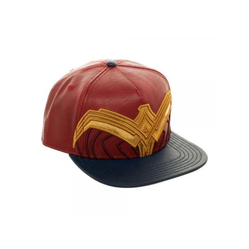 Official DC Comics - Wonder woman (movie) symbol costume styled red snapback cap