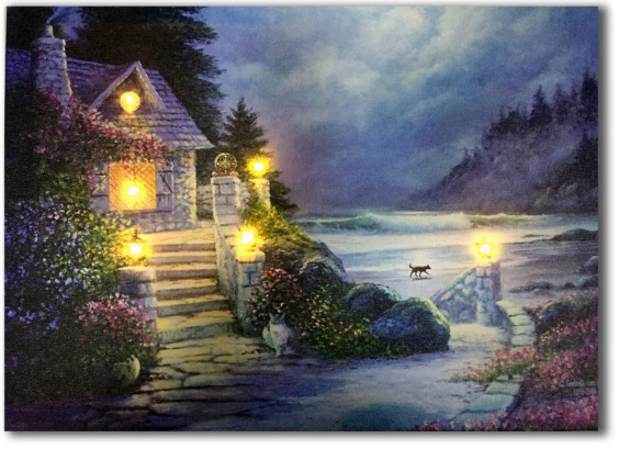 LED fantasy cottage