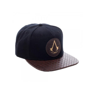 Official Assassin's Creed: the movie symbol brown PU snapback cap