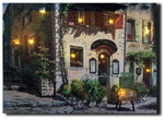 LED canvas venetian scenery Venice art