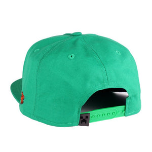 Official Minecraft - zombie head green snapback cap