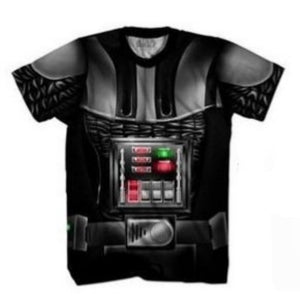 Star wars Darth Vader body costume t-shirt