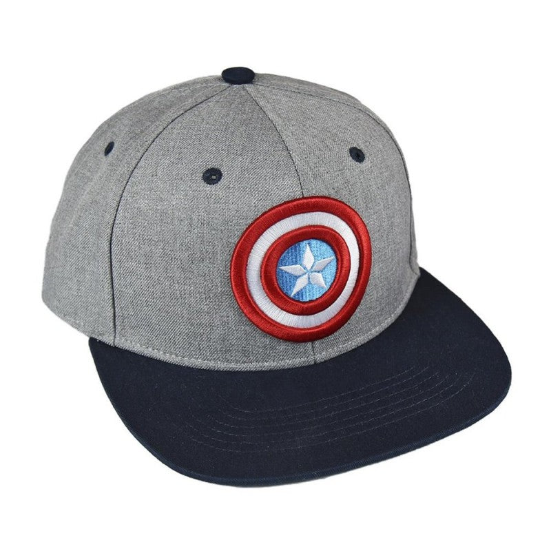 Marvel comics Captain America shield embroidery cap (Kids)