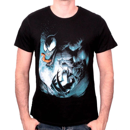 1eb852c8 MARVEL'S THE AMAZING SPIDERMAN VENOM LOOKING RATHER ANGRY T-SHIRT