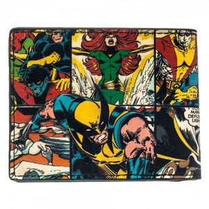 Marvel's X-Men Wolverine collage bi-fold wallet