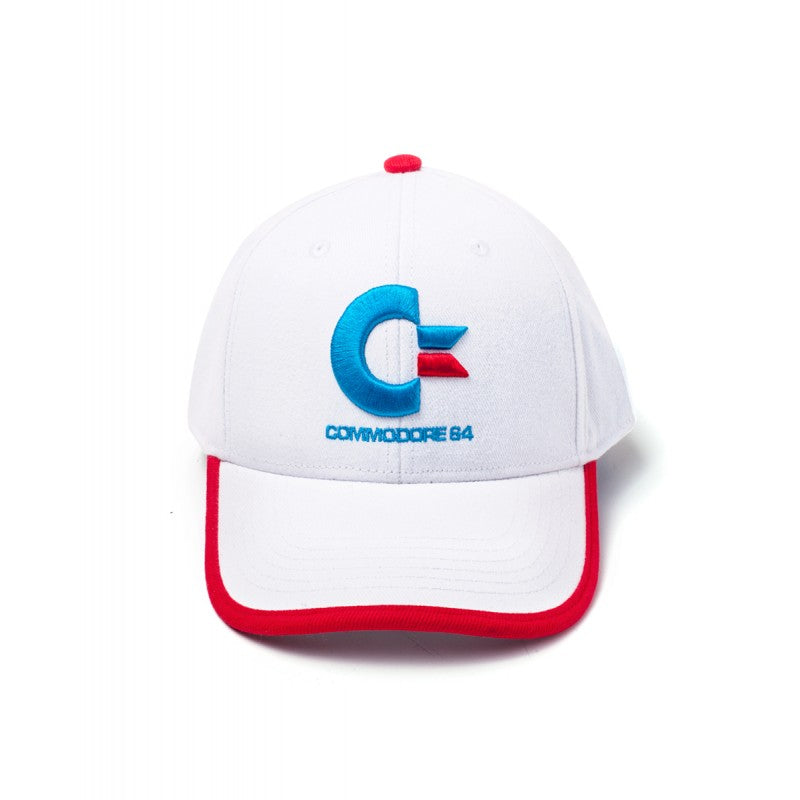 Official Commodore 64 white baseball cap