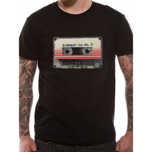 Guardians of the galaxy - awesome mix vol. 2 black t-shirt