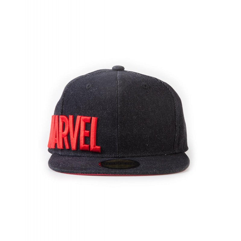 Official Marvel comics - text logo side embroidery cap