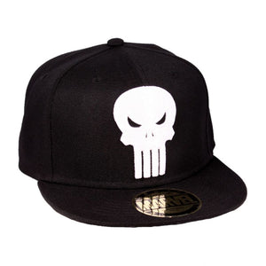 Official Marvel comics - the Punisher skull black snapback cap