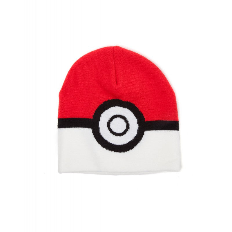 Official Nintendo - Pokemon pokeball printed front summer beanie hat