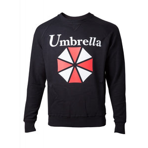 Official Resident evil Umbrella logo black sweater jumper