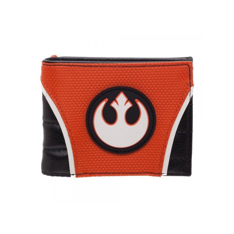 Official Star wars rebel alliance symbol pilot styled costume bi-fold wallet