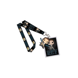 Official Star wars rey funko pop! Lanyard