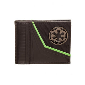 Official Star wars rogue one - empire symbol bi-fold wallet