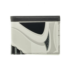 Official Star wars - stormtrooper mask styled bifold wallet