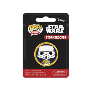 Official Star wars stormtrooper pop! Pin badge