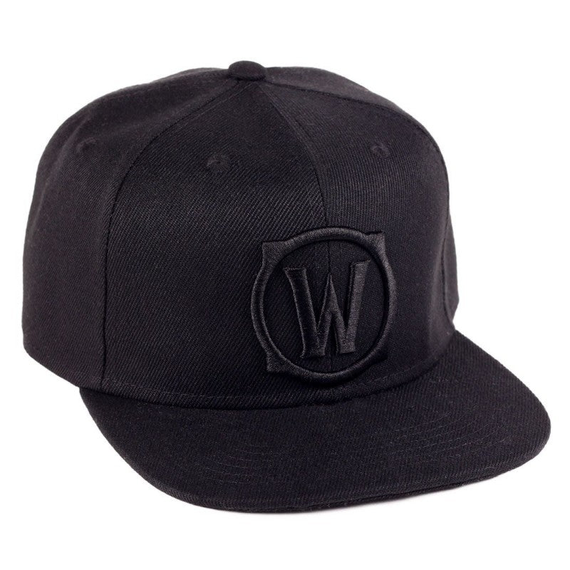 "Official World of Warcraft (WoW) ""W"" black cap"