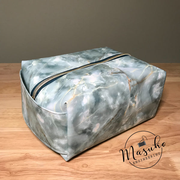 Green Marble - Travel Bag