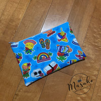 Blue Hawaii - RTS Zipper Pouch
