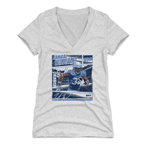 Jamaal Williams Women's V-Neck T-Shirt | 500 LEVEL