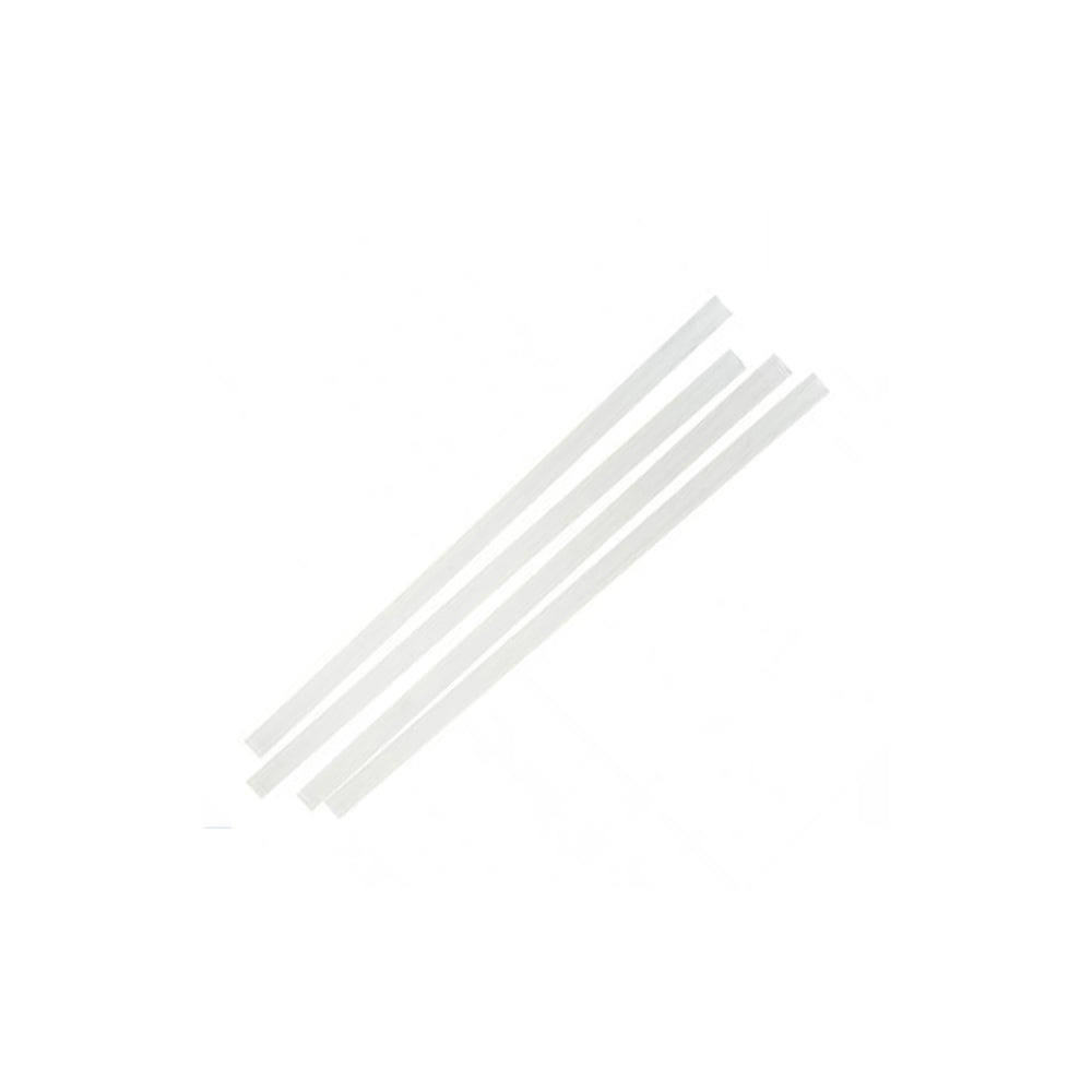 Clear Smoothie Straws 250/pkt - Bon Accord