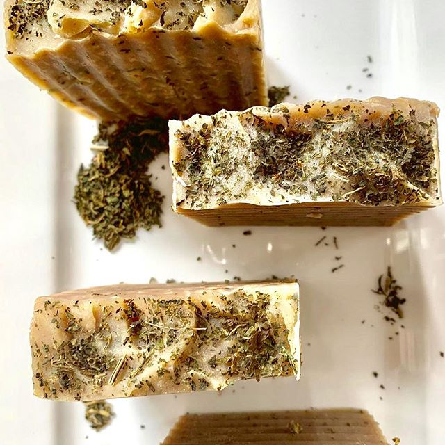 Tea tree soap bars