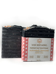 Activated Charcoal with Himalayan salt bar