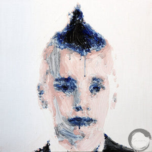 Painted Studies: artonomous 010 (boy with mohawk)