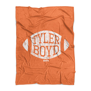 Tyler Boyd Fleece Blanket | 500 LEVEL